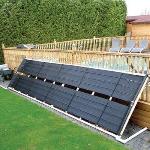 Chauffage solaire pour piscine